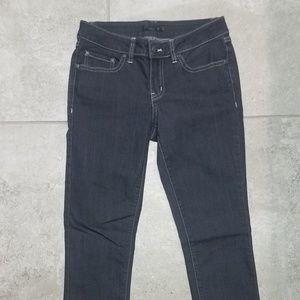 PrAna straight leg dark gray jeans